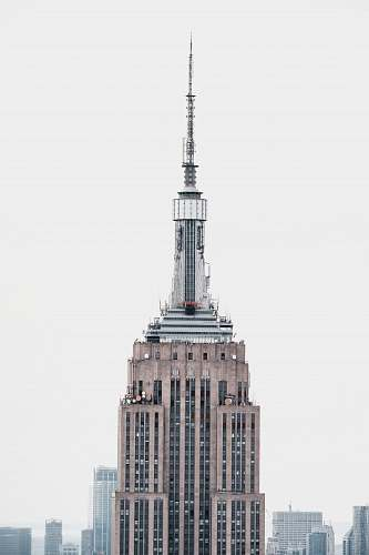 building Empire State Building during daytime spire