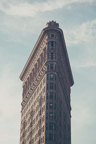 building Flatiron Building, New York city
