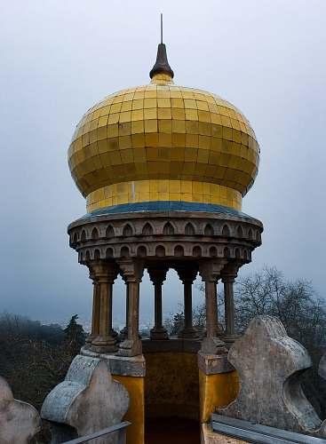 building gold domr gazebo dome