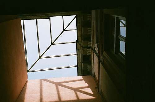 building gray and brown concrete building window