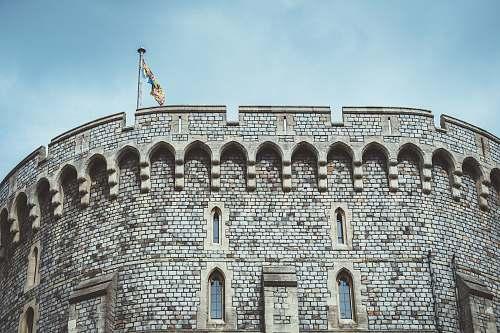 building gray castle wall castle