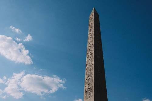 monument gray concrete tower obelisk