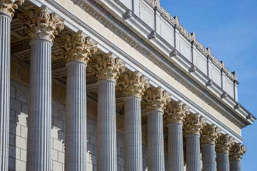 building gray gothic building column
