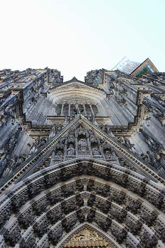 building gray stone cathedral cathedral