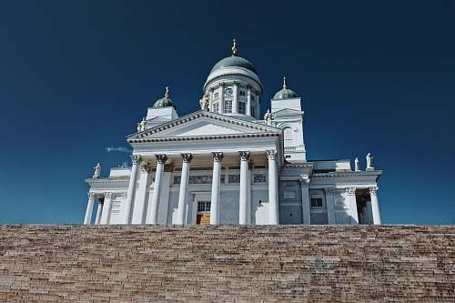 building helsinki cathedral dome