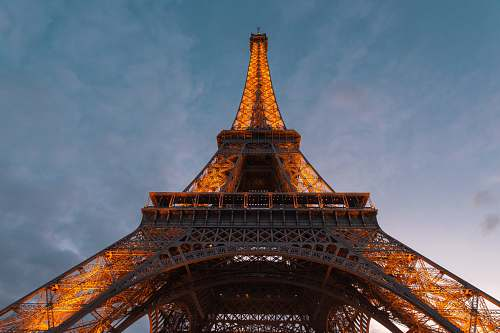 building low-angle photography of eiffel tower tower