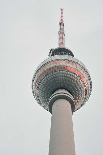 building low-angle photography of Oriental Pearl tower tower