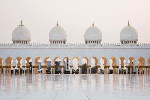 building Mecca dome