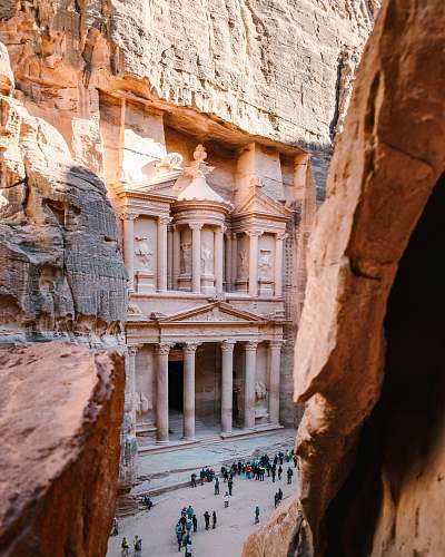 monastery Petra, Jordan housing