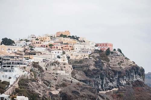 building Santorini, Greece dome
