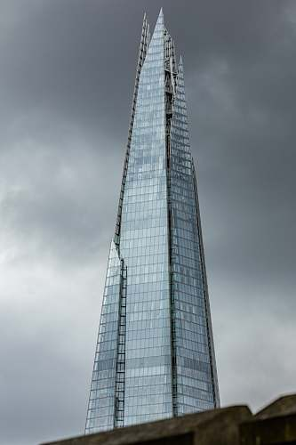 tower shard building grey