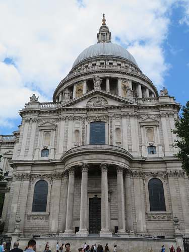 building St. Paul's cathedral dome