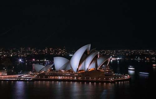australia Sydney Opera House during night time sydney