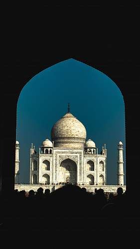 building Taj Mahal dome