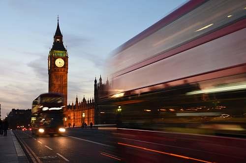 tower timelapse photo of Elizabeth Tower london