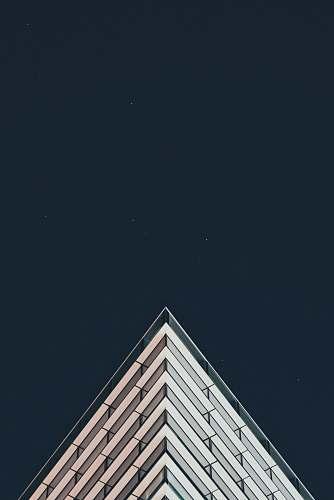 building white building under stars minimal