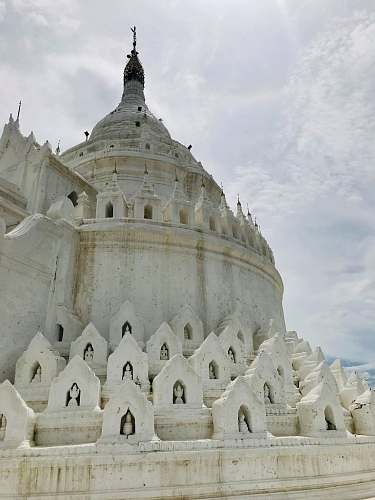 building white church steeple