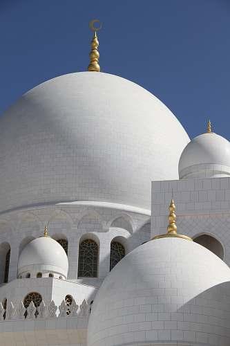building white concrete dome dome