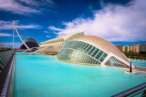 architecture beige structure planetarium
