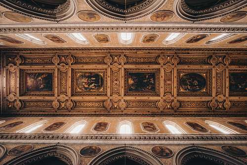 photo architecture brown building interior apse free for commercial use images