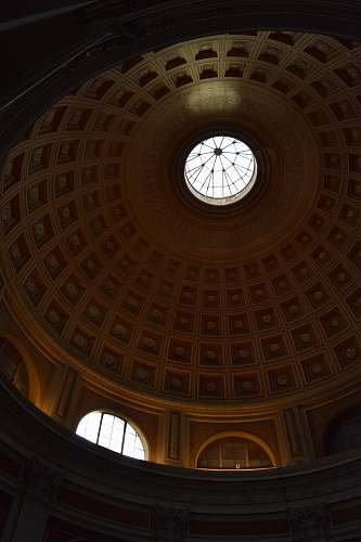 architecture dome building interior window