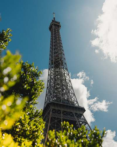 architecture Eiffel Tower in Paris tower