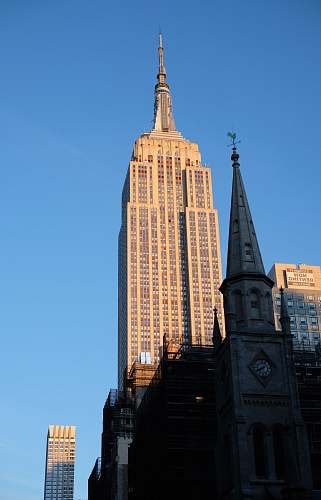 architecture Empire State building during daytime spire