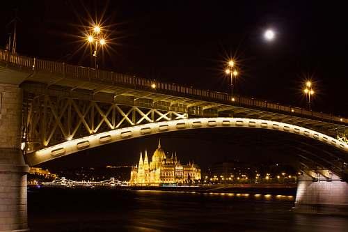 architecture gray concrete bridge arch bridge