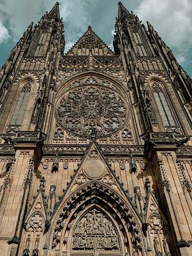 architecture photo of cathedral steeple