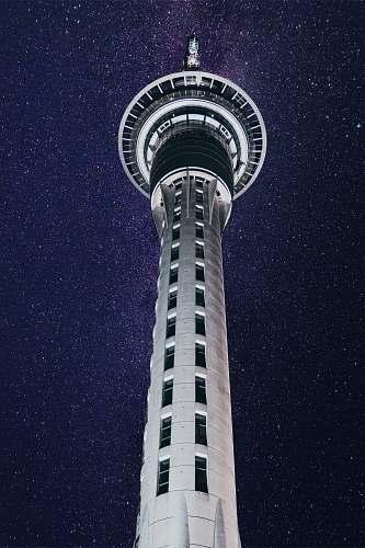 architecture white concrete tower tower