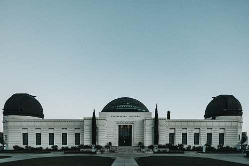 building white building planetarium