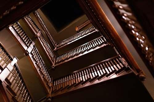 handrail brown stairs leisure activities
