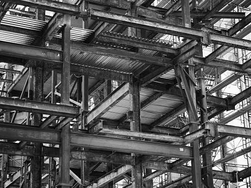 united states grayscale photography of building structure new york