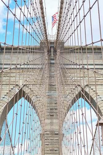 architecture Brooklyn Bridge New York monument