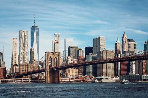 city Brooklyn Bridge, New York new york