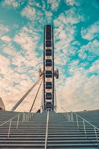 architecture Ferris wheel handrail