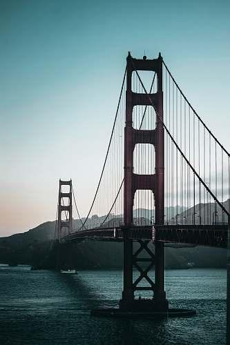 bridge Golden Gate Bridge, San Francisco during day city
