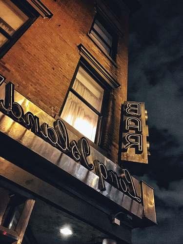brick Long Island bar facade urban