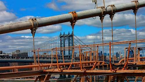 construction orange metal frames new york