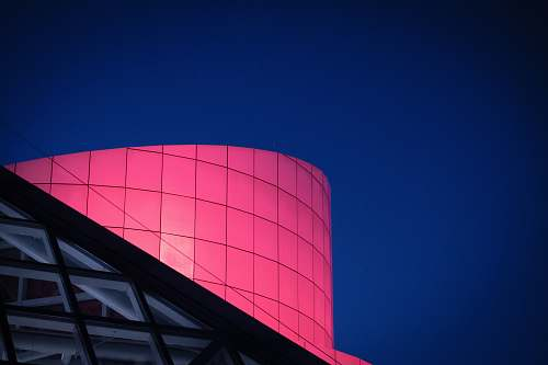 architecture pink building outdoors