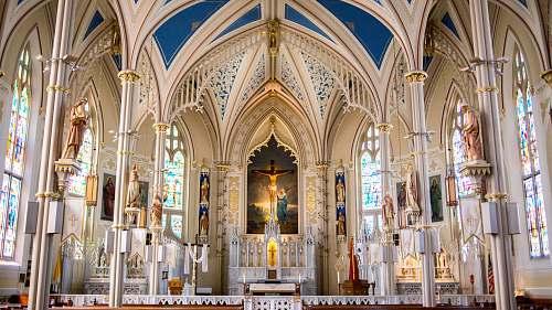 indoors church interior architecture