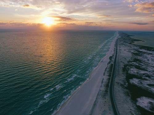 beach body of water gulf breeze