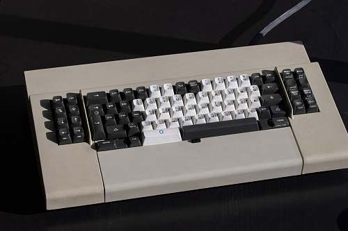 keyboard white and black computer keyboard computer hardware