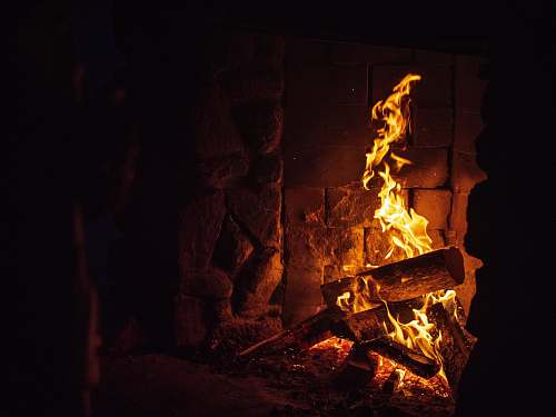 flame fireplace mt