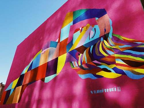 symbol multicolored wallpaper art