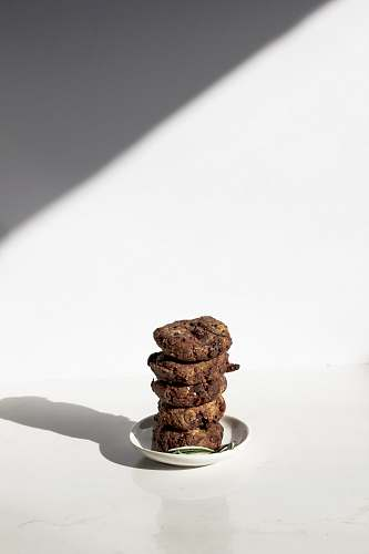 cookie pile of cookies served on saucer biscuit