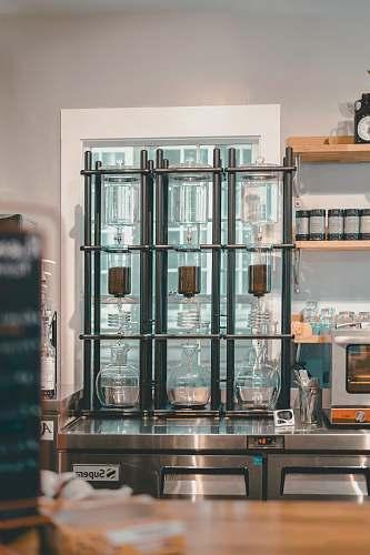 shelf gray steel case cabinet
