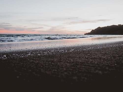 beach low angle photo of sea shore san francisco