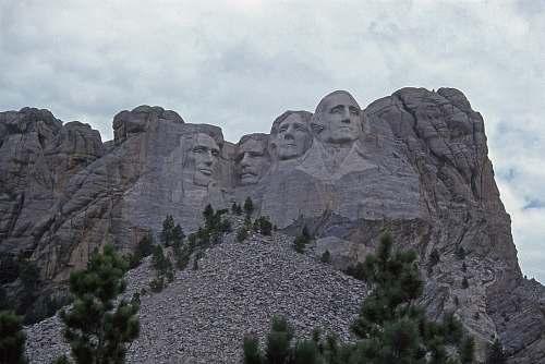 art Mount Rushmore National Memorial, South Dakota black hills