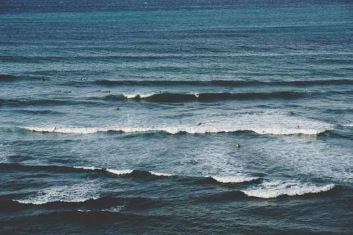 water people on ocean ocean